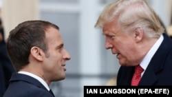 کاخ سفید میگوید، روسای جمهوری آمریکا و فرانسه در خصوص برنامه هسته ای ایران صحبت کردهاند. (عکس از آرشیو)