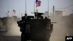Сириядағы АҚШ әскерилерінің техникасы