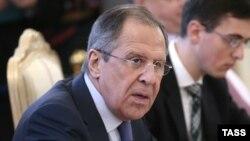 Russiýanyň daşary işler ministri Sergeý Lawrow.