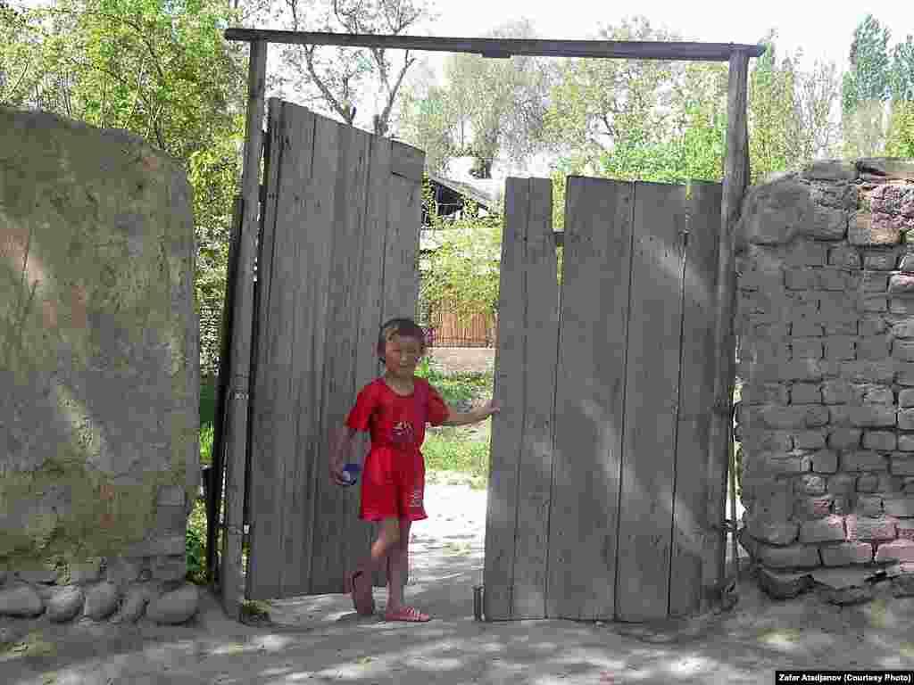 Юный житель Уйгурабада