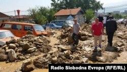 По поплавите во Тетово