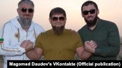 Адам Делимханов, Рамзан Кадыров, Магомед Даудов