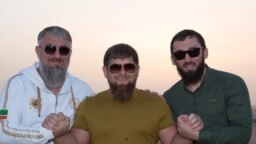 Люди из руководства Чечни: Адам Делимханов, Рамзан Кадыров, Магомед Даудов