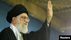 Иранскиот врховен лидер, ајатолахот Али Камнеи.