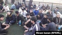 Освобожденные узники талибской тюрьмы