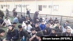 زندانیان رها شده از نزد طالبان در فاریاب