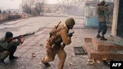 Грозный, 5 января 1995 года, архивное фото