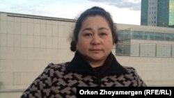 Үлескер Айгүл Үсейінова. Астана, 2 қазан 2013 жыл.