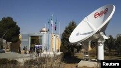 Здание Иранского космического агентства. Махдашт, февраль 2012 года.