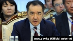 Бақытжан Сағынтаев, Қазақстан премьер-министрі.