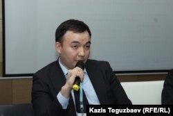 Главный эксперт Национального центра по правам человека Аслан Сапаргали. Алматы, 4 октября 2019 года.