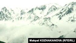 Алматы маңындағы тау көрінісі. (Көрнекі сурет)