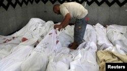 Жртви од протестите во Египет.