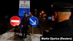 Jedan od prelaza između Hrvatske i Srbije