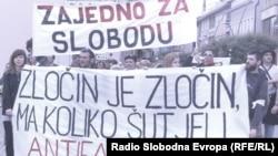 Dan bijelih traka, Prijedor, 31.maj 2013., foto:Maja Bjelajac