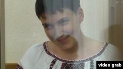 Надежда Савченко в суде Донецка Ростовской области
