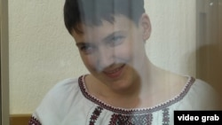 Надежда Савченко в суде. 22 сентября