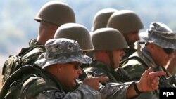 Од тренингот меѓу македонските војници и припадници на Националната гарда на Вермонт