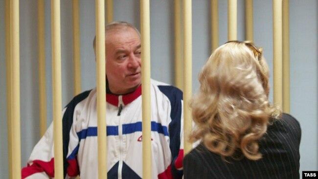 Сергей Скрипаль в Московском окружном военном суде, 10 августа 2006 года
