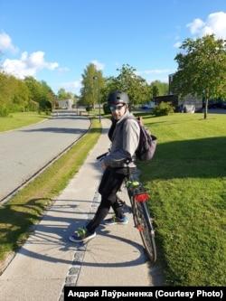 Датский велосипедист белорусского закалки