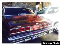 В Иране много американских машин.