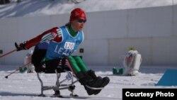 На лыжнай дыстанцыі беларуская паралімпійка Людміла Ваўчок