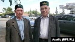 Әфтах Шәмсиев (с) һәм Сәгыйт Шәмсетдинов