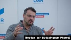 """Cristian Ghinea, unul dintre inițiatorii proiectului privind """"interzicerea comunismului""""."""