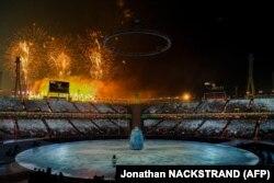 Церемонія відкриття Олімпійських ігор у Пхьончхані, 9 лютого 2018 року