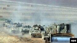 Армейские бульдозеры вошли в Газу с севера