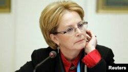 Министр здравоохранения России Вероника Скворцова.