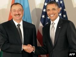 İlham Əliyev və Barack Obama
