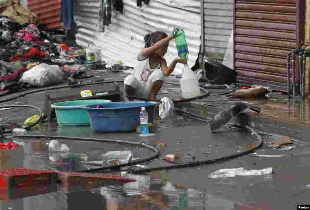 Tacloban, 12. novembar 2013. Foto: REUTERS / Romeo Ranoco