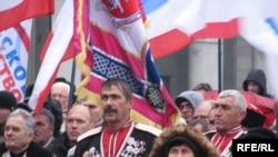Мітинг нової коаліції «Російська єдність», Крим, Сімферополь, 19 грудня 2009 року
