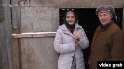 Қурбонгул(Катя) бо раиси рустои Перелоги Галина Хренова