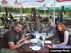 Ольга Кобевко та активісти Майдану, які вирушили на схід боронити країну