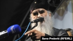 "By supporting gay rights, says Amfilohije Radovic, the head of the Serbian Orthodox Church in Montenegro, the country is ""under threat of becoming a sodomite state."""