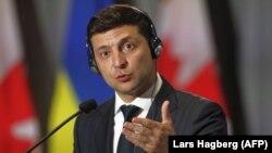 Ukraina prezidenti Volodımır Zelenskıy Kanadada