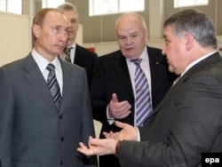 Владимир Путин, Евгений Велихов и Михаил Ковальчук