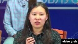 Айжамал Жумгалбекова.