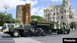 Bakıda hərbi parad - 26 iyun 2011