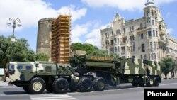 Ադրբեջան - Ռուսական S-300 Favorit հակաօդային պաշտպանության համակարգը Բաքվում զորահանդեսի ժամանակ, արխիվ