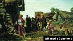 Илларион Прянишников. Калики перехожие. 1870.