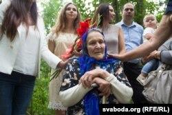 Зінаіда Пашкевіч са сваімі роднымі