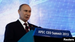 Russian President Vladimir Putin says he understands why U.S. President Barack Obama decided to skip the APEC summit.