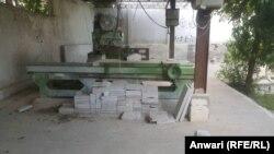 آرشیف، کارخانه مرمر در افغانستان