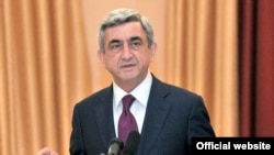 Serzh Sarkisian (file photo)