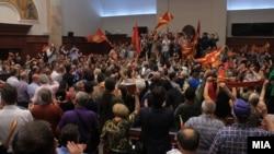 Kuvendi i Maqedonisë së Veriut - 27 prill 2017.