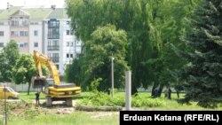 Park u Banjaluci protiv čije devastacije su se pobunili graani