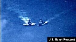 Эпизод инцидента в Восточно-Китайском море, 7 июня 2019 года.